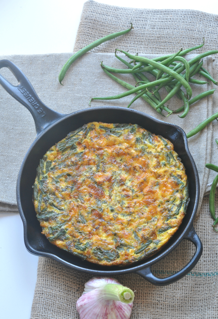 glutenfree Green-Bean-Tortilla, a surprising variation of Spain's best-known dish