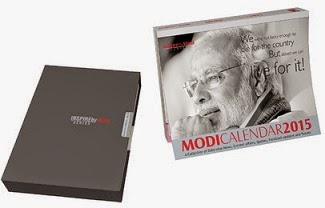 Mausam Books Inspire by Modi 2015 Desk Calendar (One Page Daily, Multicolor, NaMo) for Rs.399 Only @ Flipkart