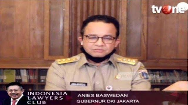 Mengeluh ke Media Asing, Anies Sebut Pemerintah Pusat Tak Konsisten