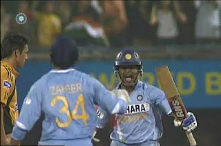 India vs Australia 7th ODI 2007 Highlights