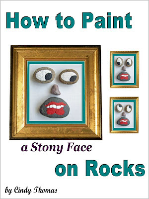 how to, rock painting, faces, painted rocks, ideas, Cindy Thomas