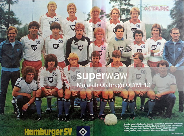 FULL TEAM HAMBURGER SV 1981