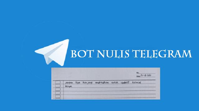 Bot Nulis Telegram