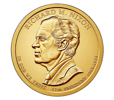 Richard Nixon, 37th President of the United States 2016 US Presidential One Dollar Coin