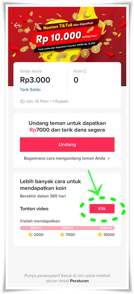 Cara mudah mendapatkan uang dari TikTok