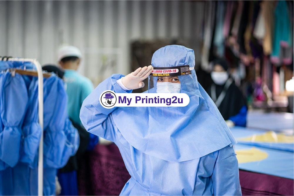 Kilang Jahit Baju PPE Hospital