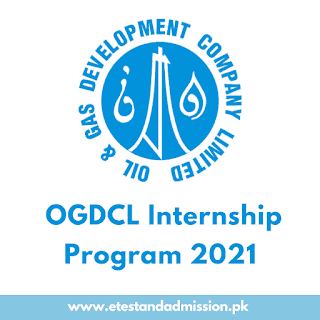 OGDCL Internship Program 2021