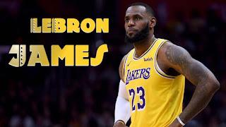 اخبار كرة السلة ليبرون جيمس يساهم مع لوس انجلوس ليكرز الي النهائيات
