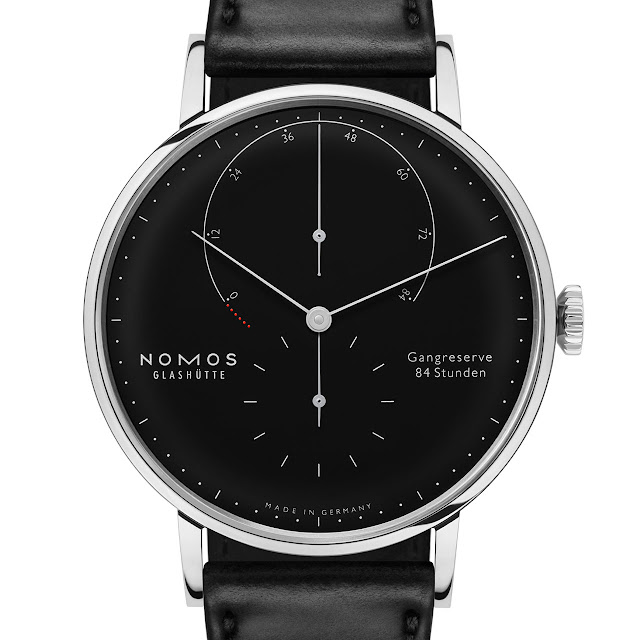 Nomos Glashütte Lambda 175 Years Watchmaking Glashütte black enamel