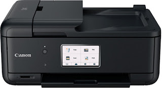 Fi as well as Ethernet links for productive icon as well as file printing inwards abode business office buildings Canon PIXMA TR8550 Drivers Download