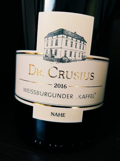 Weißburgunder Kaffel Weingut Crusius