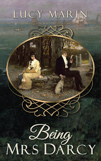 Book cover: Being Mrs Darcy by Lucy Marin