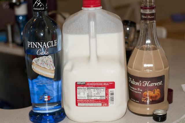pumpkin cake martini, cake vodka,  pumpkin pie liqueur, milk, pumpkin cocktail, fall cocktail, autumn cocktail, halloween cocktail