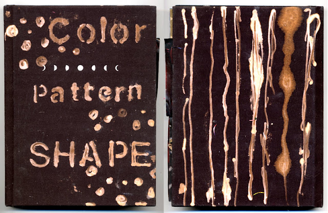 Collaged book Color Pattern Shape