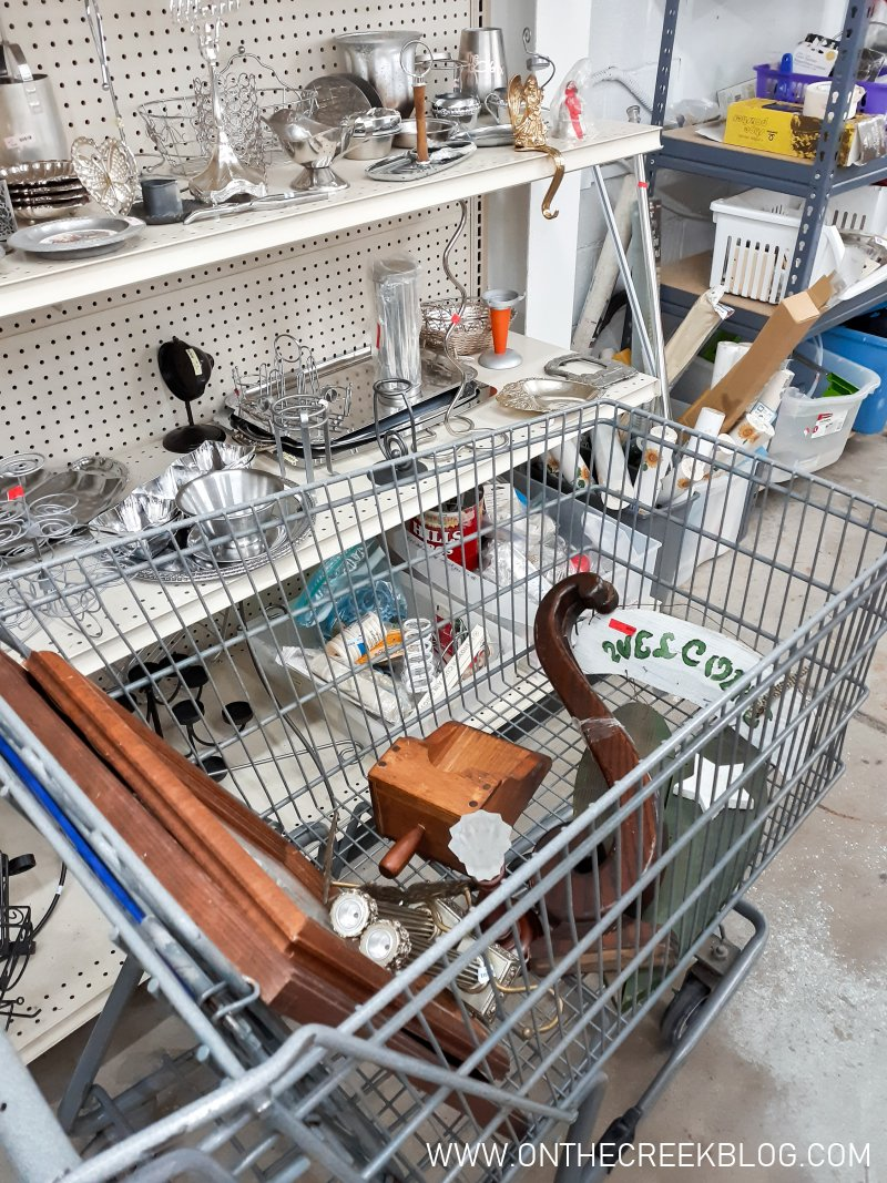 Awesome & unique items found at the thrift store!   On The Creek Blog