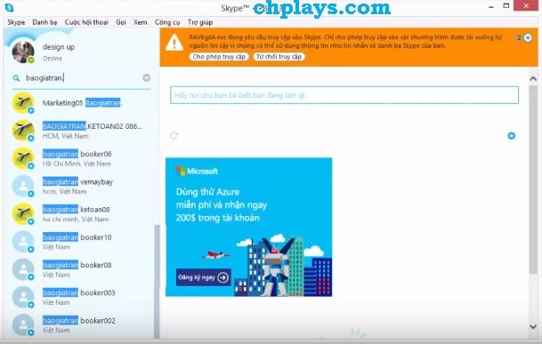Tải Skype – Chát, gọi video HOT mới nhất về cho laptop, máy tính 5