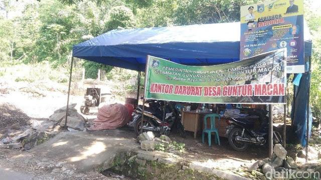 Mengurai Janji Jokowi; Hunian Tetap Belum Jadi, Korban Gempa NTB Masih Tidur di Tenda