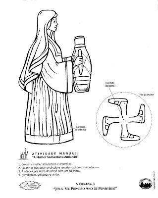 Artes da Catis: A Mulher Samaritana TAREFINHAS