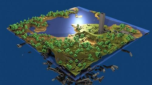 Chúng ta cũng có thể tìm kiếm nhận thấy một bản Minecraft cho phần lớn mọi hệ máy chơi trò giải trí