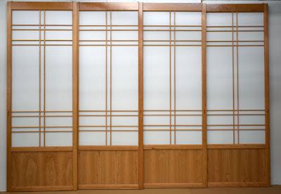 Shoji Screens with K14 kumiko pattern