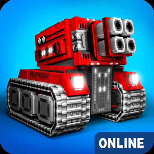 Blocky Cars Online v7.5.3 Apk Mod [Munição Infinita]