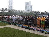 Pemko Medan Melaksanakan Shalat Idul Fitri bersama Masyarakat