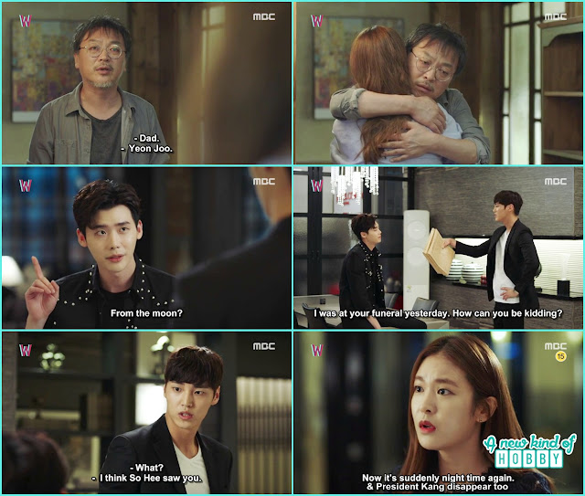 kang chul meet with do yoon - W - Episode 13 Review - The Hypothesis & Unexpected Twist