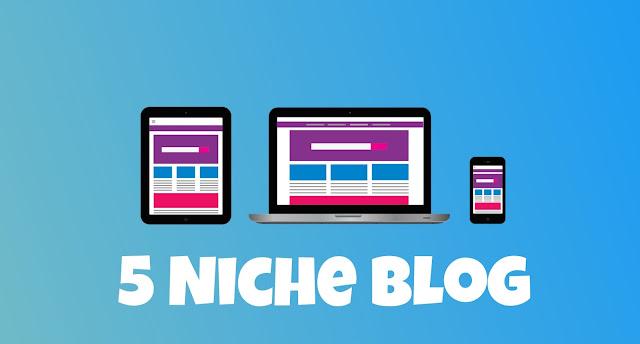 Inilah Daftar 5 Niche Blog yang Buat Banjir Visitor Blog Anda, Persaingan Sedikit