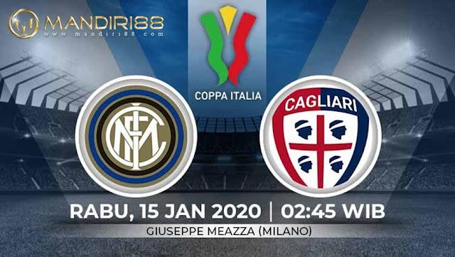 Prediksi Inter Milan Vs Cagliari, Rabu 15 Januari 2020 Pukul 02.45 WIB