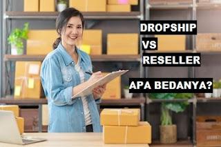 Perbedaan Bisnis Dropshipper dan Reseller. Jangan Salah Pilih
