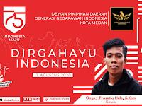 "Dirgahayu RI ke-75 | Ketua Ongky Prasetia Hulu, S.Kom ""Semoga Indonesia Diberikan Kekuatan dan Tetap Semangat"""