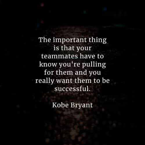 Famous quotes and sayings by Kobe Bryant