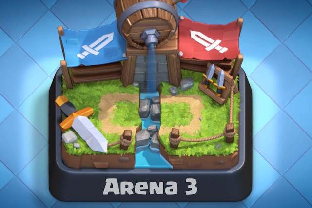 Clash Royale Arena 3 Best Deck