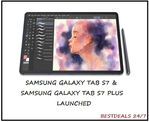 Samsung Galaxy Tab S7 & S7 Plus Launched