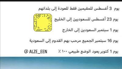 متي يفتح الطيران الدولي السعودي الدولي