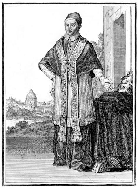 O Papa Clemente XI (1700-1721) organizou as armadas cristãs contra os turcos em 1716 e 1717
