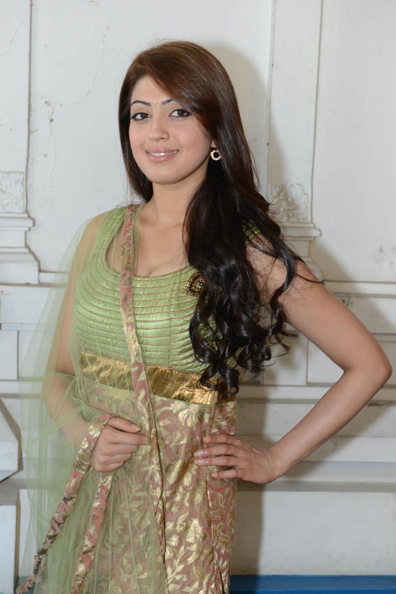 Cute charming Pranitha in traditional salwar kameez new stills at mohan babu movie launch