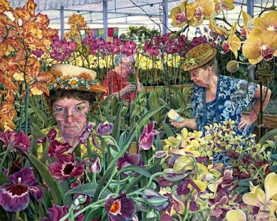 Orchids, Susan Brabeau