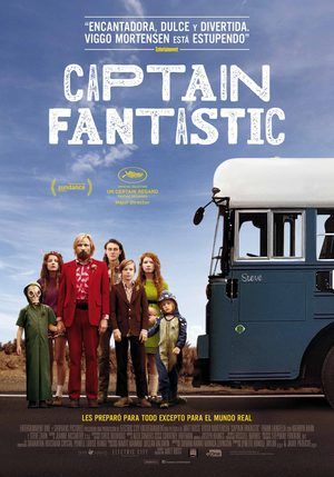 Poster Captain Fantastic 2016