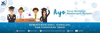 instagram Kementerian Riset, Teknologi dan Pendidikan Tinggi Republik kemenristekdikti Indonesia