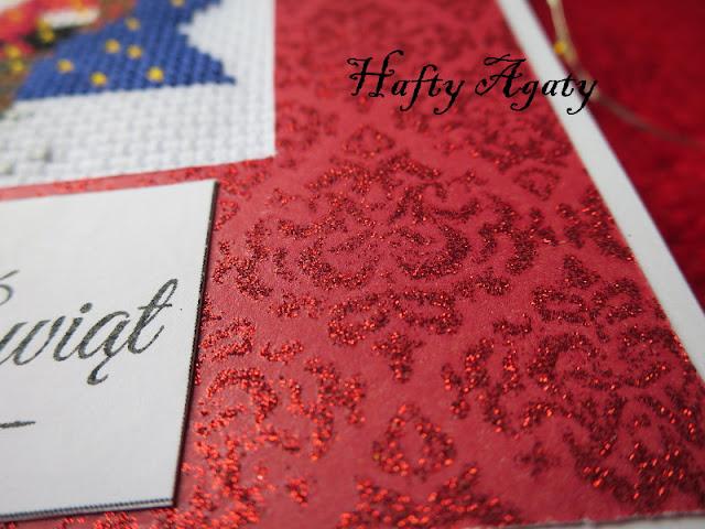 Bożonarodzeniowe kartki z mikołajem