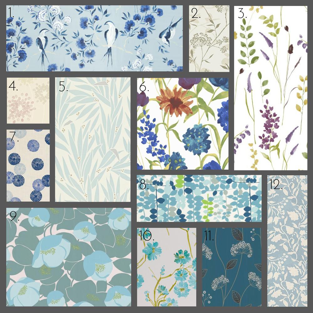 Bakari Wallpapers Fusion Gilver And Neutrals Harlequin 3 Bluebell Graham Brown 4 Juniper Gardenia Amethyst 5
