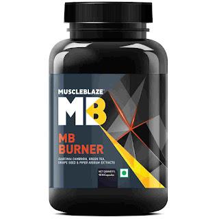 3).MuscleBlaze Fat Burner with Garcinia Cambogia Extract