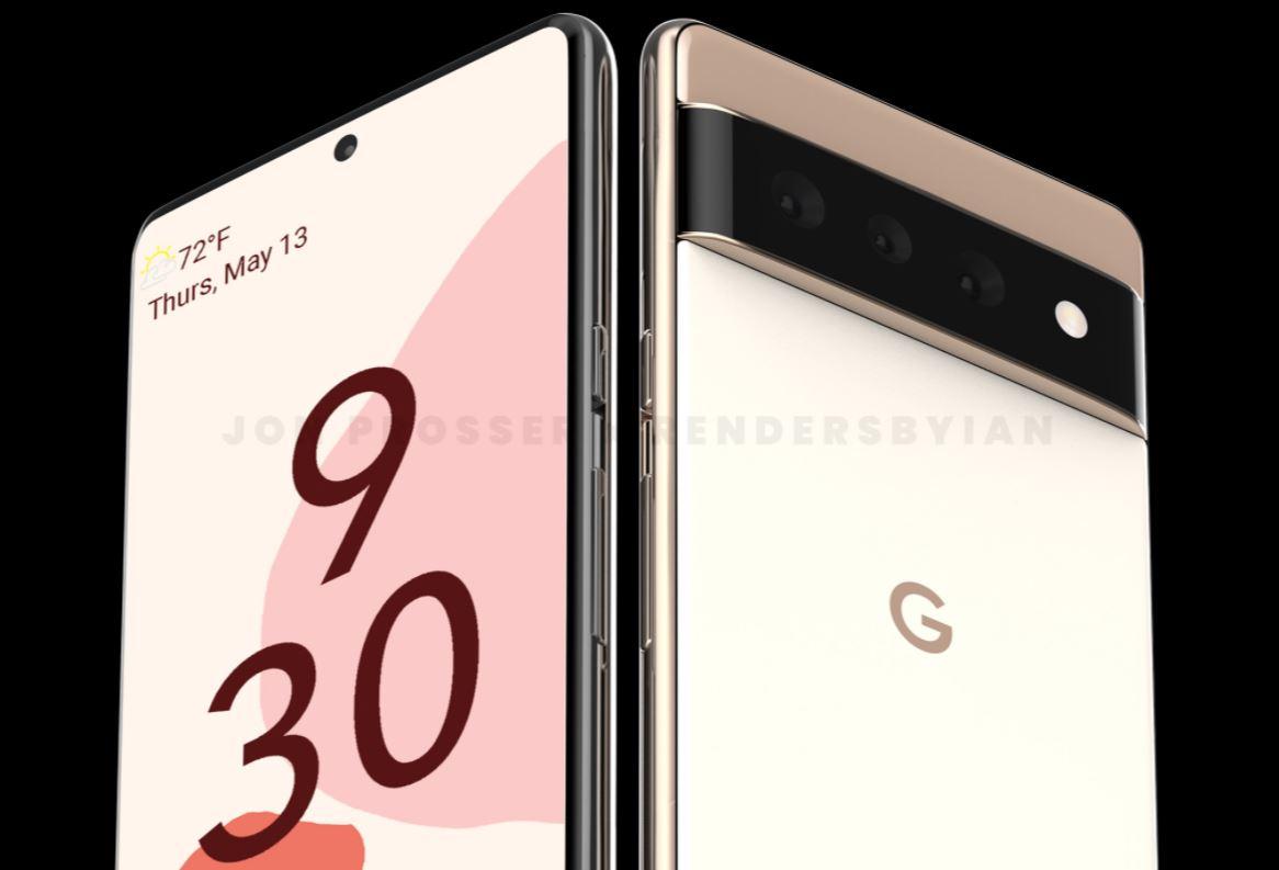 Google Pixel 6 ve Pixel 6 Pro sızıntısı