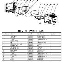 ht-2180-parts-list