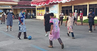 Sambut Hut Bayangkara, Polres Tana Toraja Gelar Futsal Berdaster Vs Media