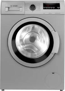 Bosch 7 Kg Inverter Fully Automatic Front Loading Washing Machine (WAJ2416SIN)