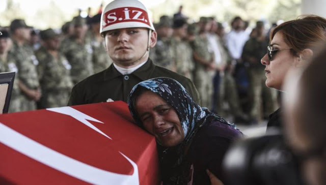 Οι Τούρκοι άρχισαν να παραλαμβάνουν τα πρώτα φέρετρα από το Αφρίν – Στην αντεπίθεση περνούν οι Κούρδοι!!!!