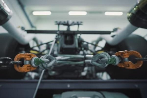 Motor V12 Hiperauto Lamborghini