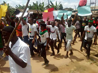 IPOB Protest in Aba
